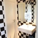 Digitale Werbung / Toiletten Spiegel